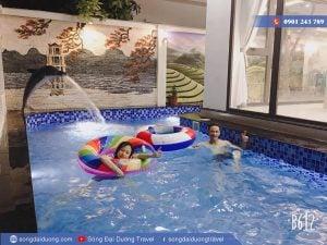 Hồ bơi riêng tại Villa