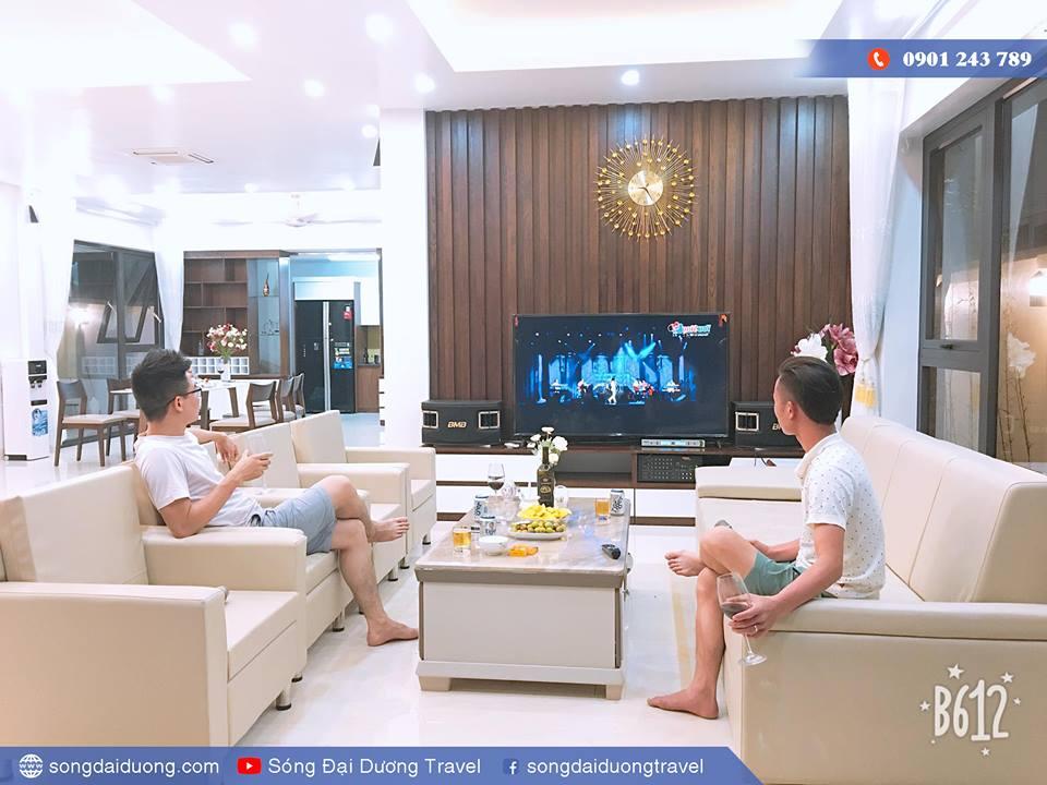 Karaoke tại Villa FLC Ngọc Trai NT36 (Sóng Đại Dương Villa)