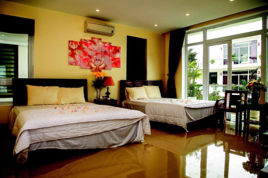 phòng ngủ căn villa 7 ngủ