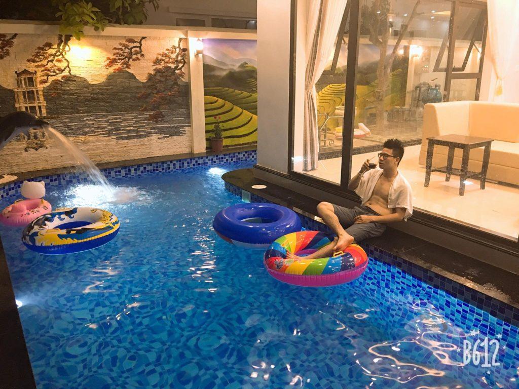 bể bơi riêng