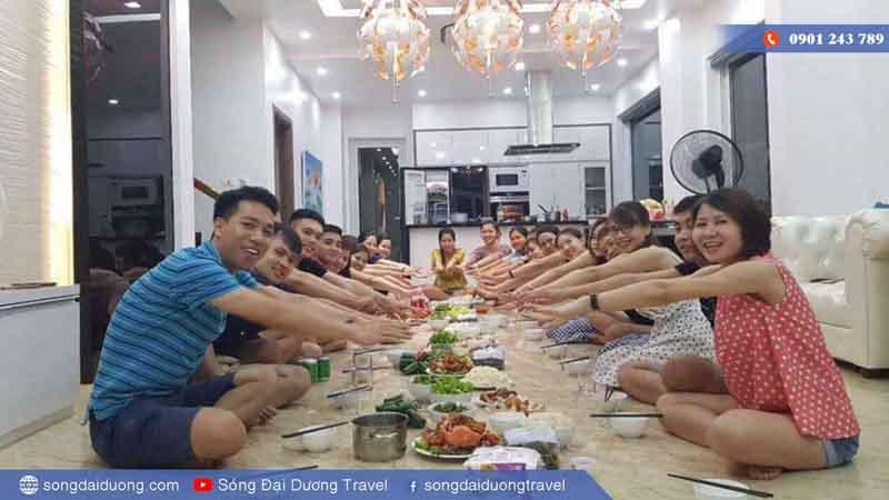 Tổ chức tiệc tại biệt thự FLC Sầm Sơn