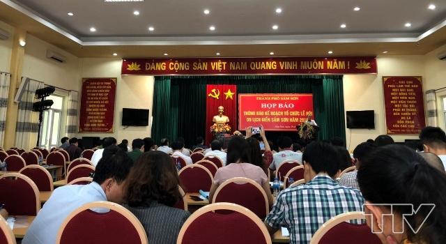 Họp báo công bố lễ hội khai trương mùa du lịch hè Sầm Sơn