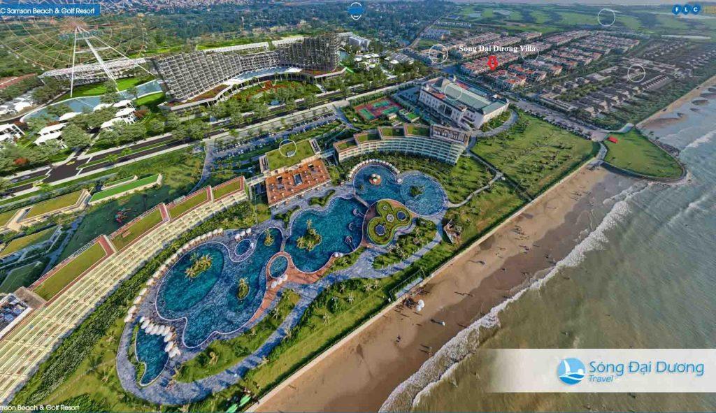ảnh toàn cảnh FLC Sầm Sơn Resort