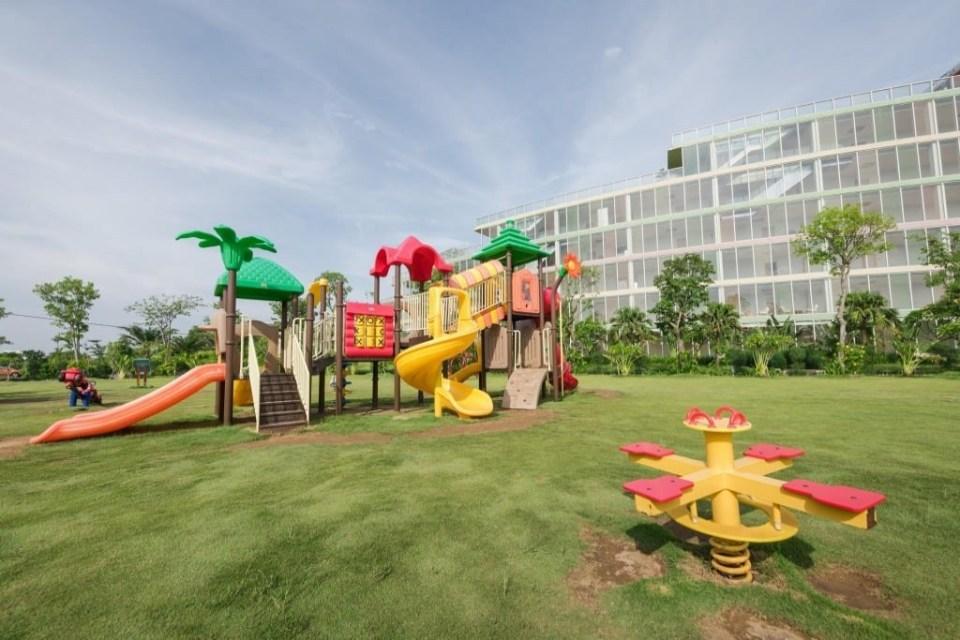 khu vui chơi cho trẻ nhỏ ở FLC Sầm Sơn