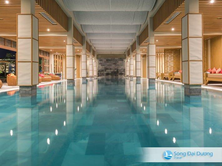 Bể bơi nước nóng FLC Sầm Sơn