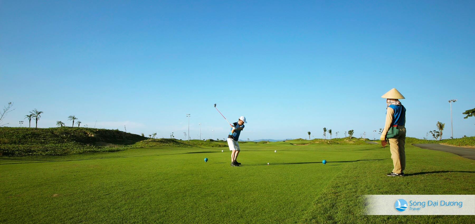 Sân Golf links 18 hố