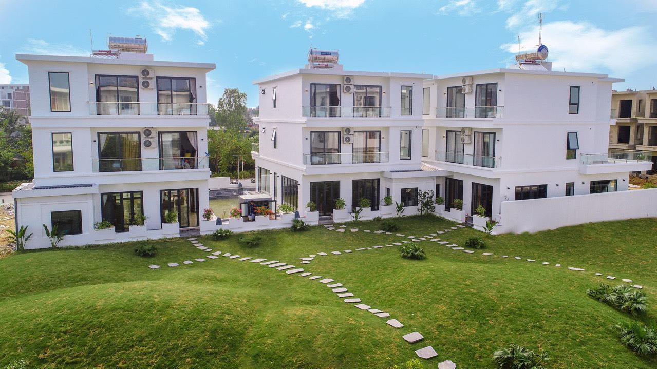villa garden đôi