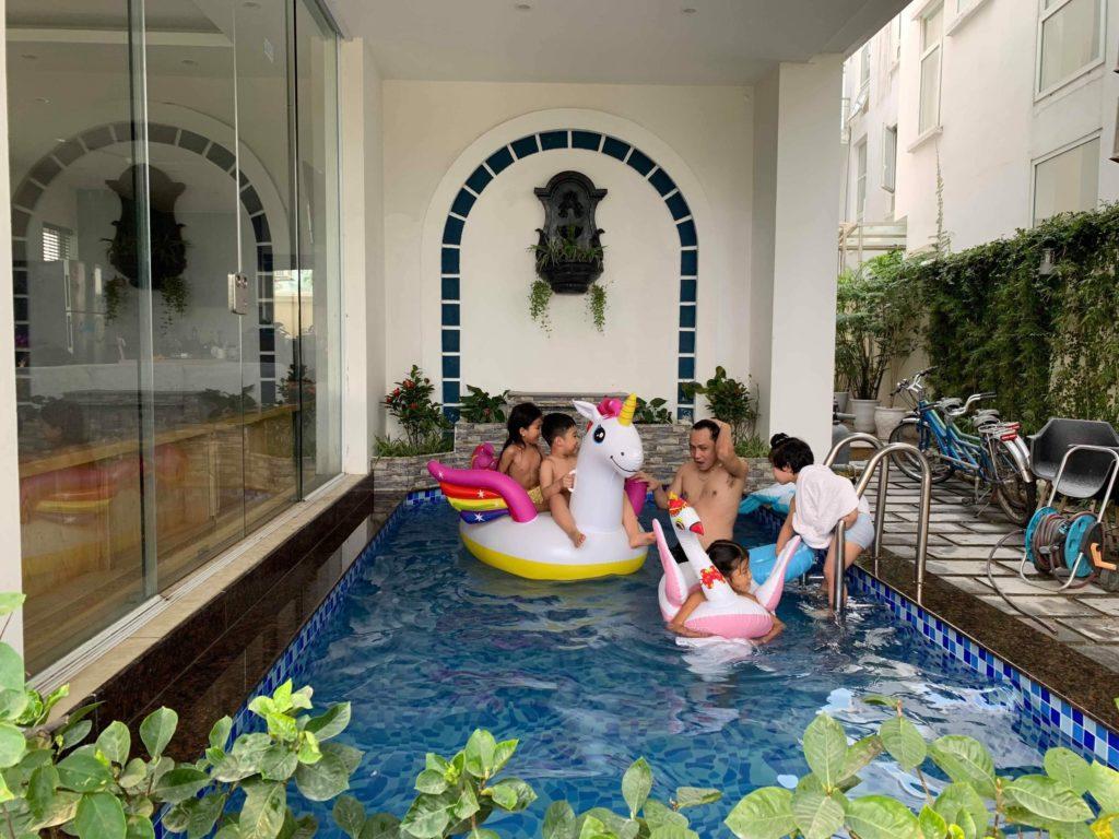 bể bơi riêng Marron Villa FLC Sầm Sơn 8 phòng ngủ