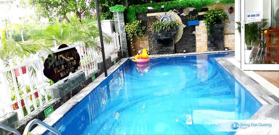Bể bơi Villa FLC Sầm Sơn Ngọc Trai NT127