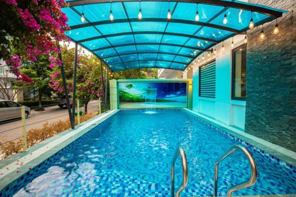 bể bơi villa