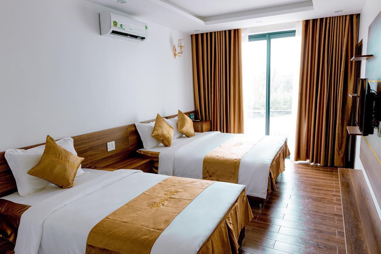 phòng ngủ garden villa