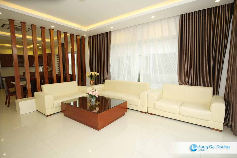 Phòng khách biệt thự Sầm Sơn