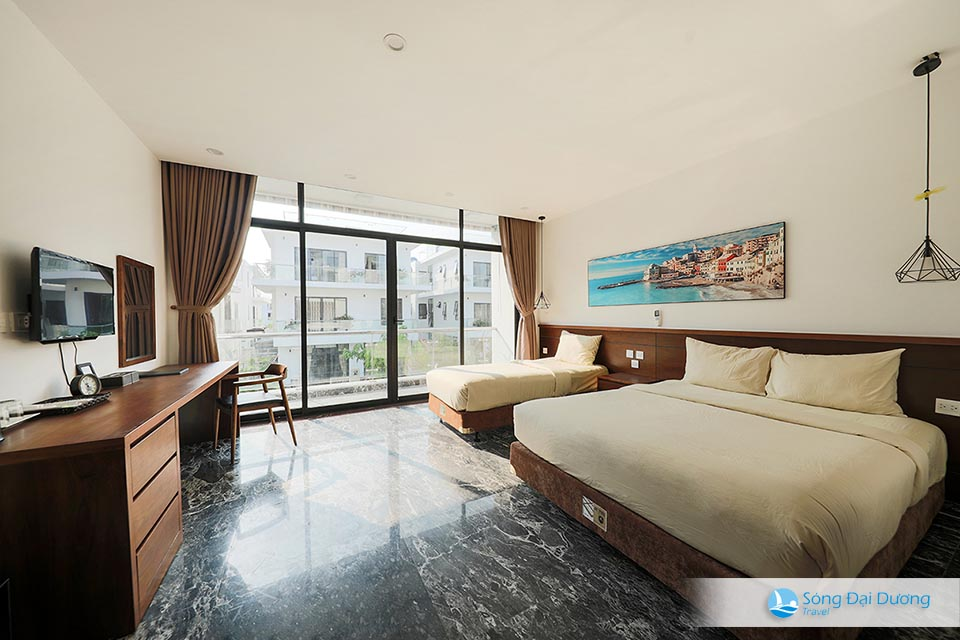 Phòng ngủ lớn phù hợp cho hộ gia đình - Marron Villa FLC Sầm Sơn 10 phòng ngủ