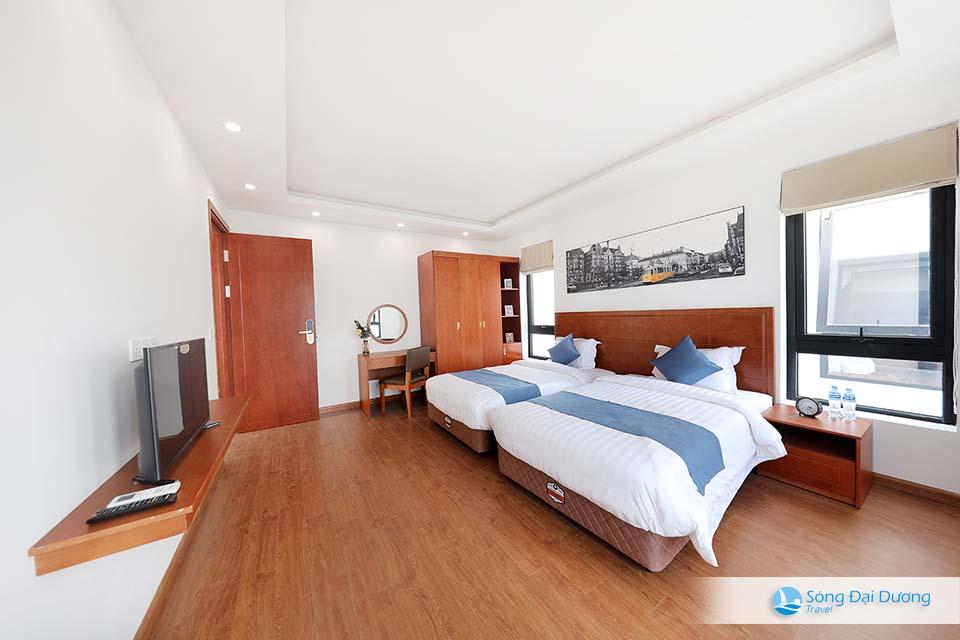 Phòng ngủ lớn dành cho gia đình