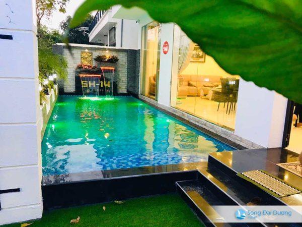 villa 5 phòng ngủ có bể bơi