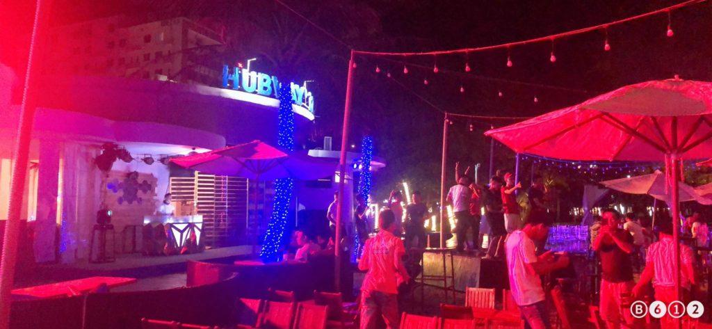 Hubway buổi tối ở bờ biển Sầm Sơn