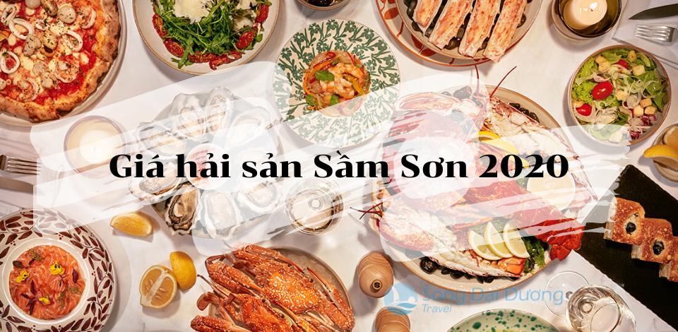 Giá hải sản Sầm Sơn 2020