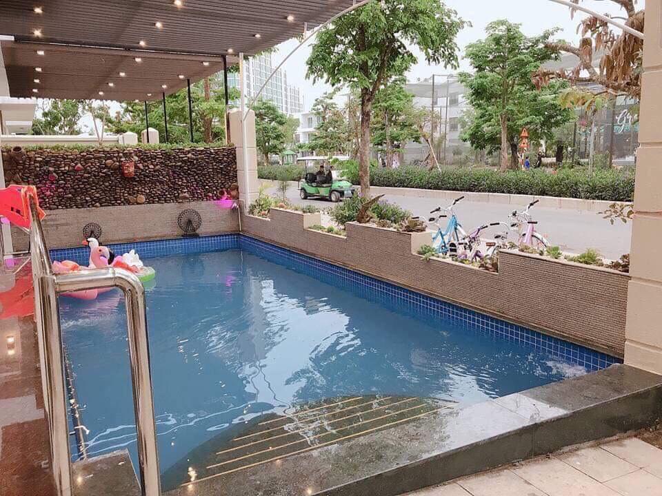 bể bơi cư dân