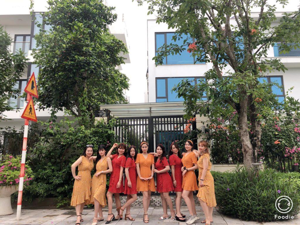 khách hàng của sóng đại dương thuê Villa FLC Sầm Sơn