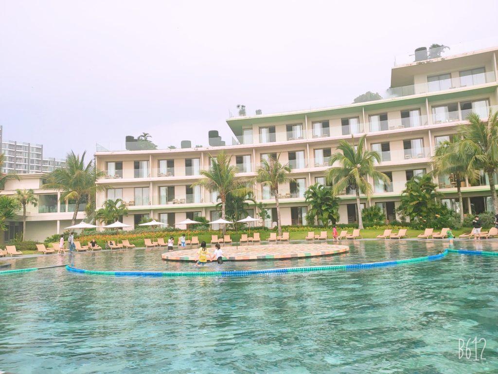 bể bơi nước mặn đẹp