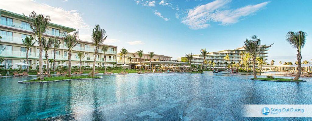 bể bơi nước mặn lớn nhất Việt Nam