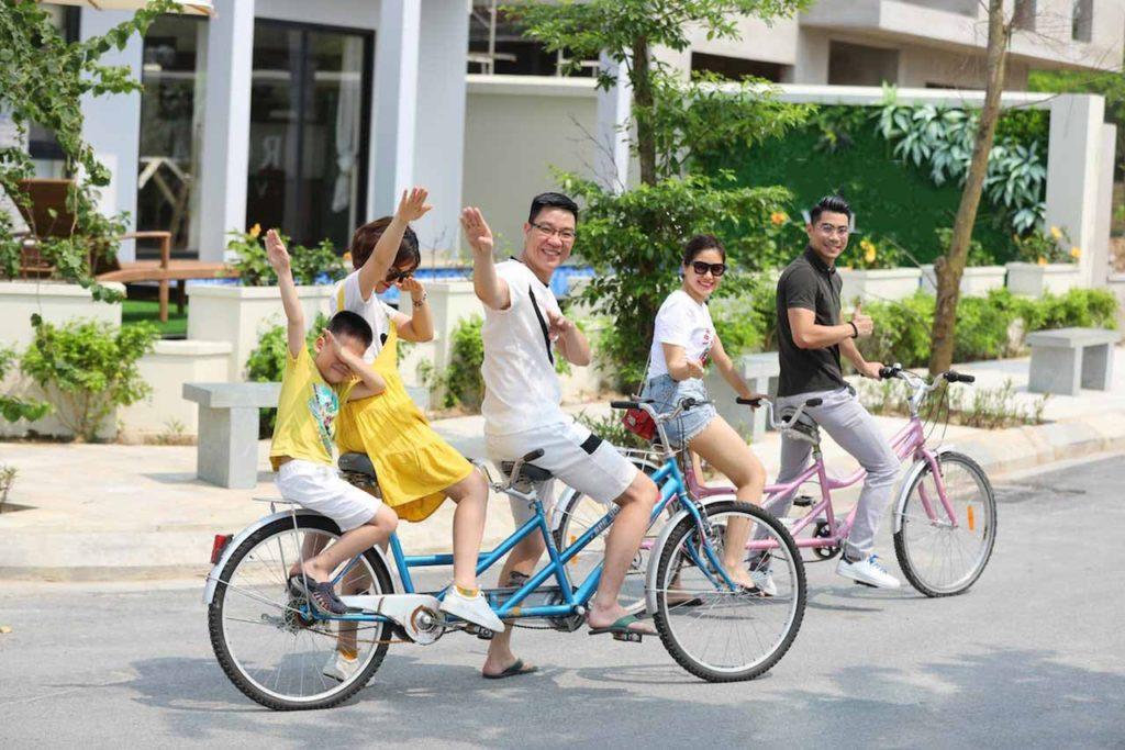 xe đạp đôi tour du lịch FLC Sầm Sơn