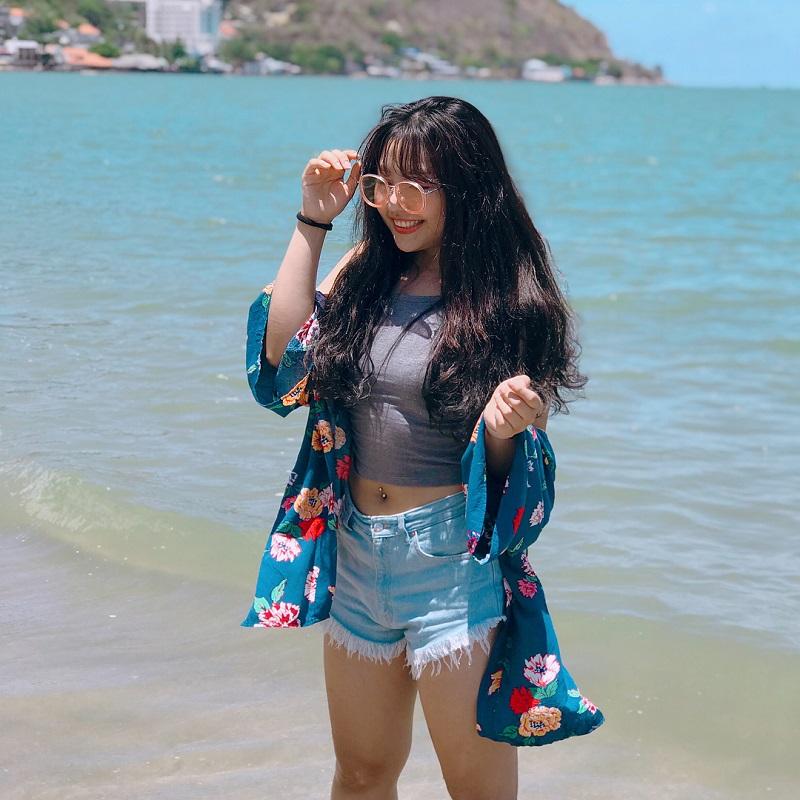 trang phục đi biển