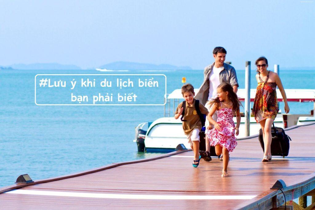 lưu ý khi du lịch biển