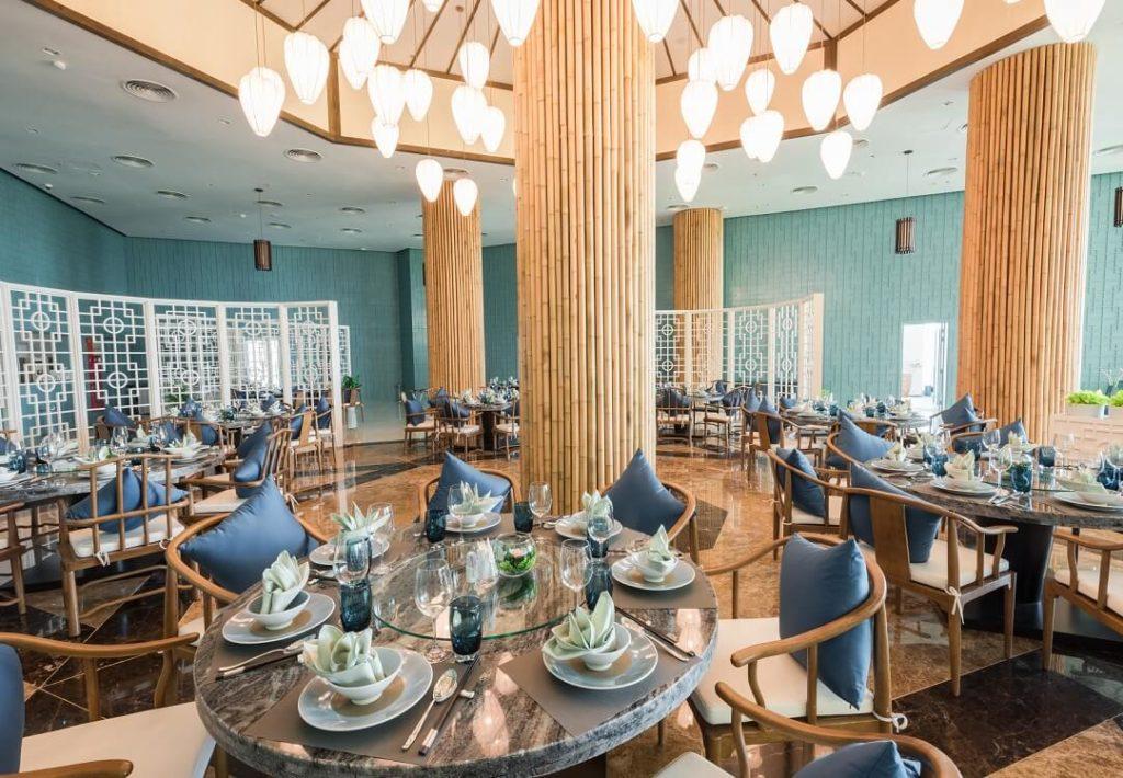 nhà hàng bamboo FLC Sầm Sơn Grand Hotel