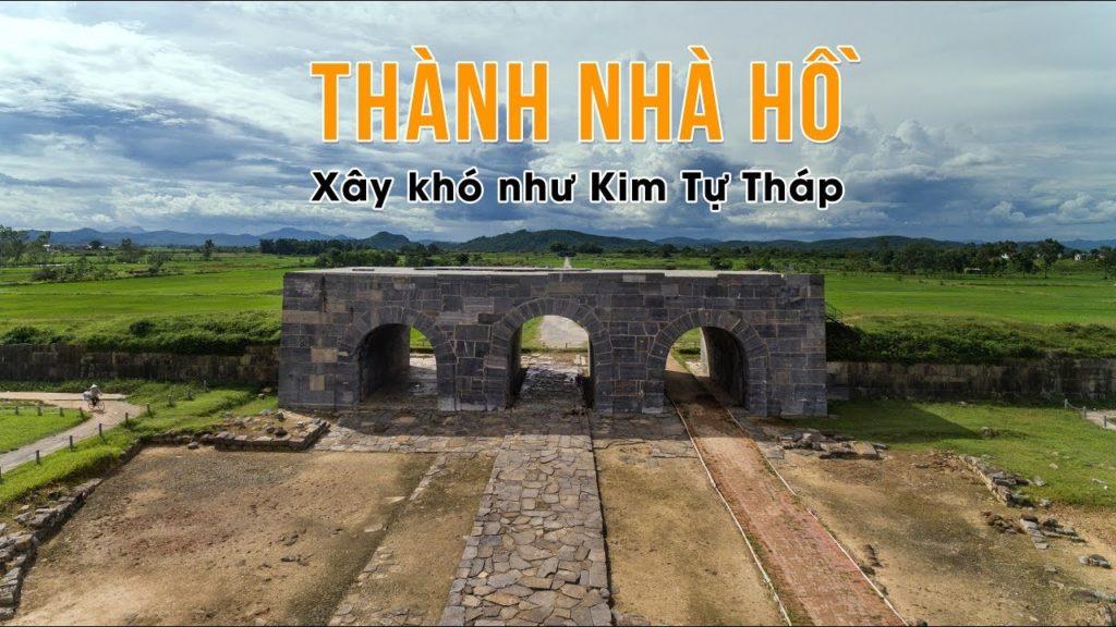thành nhà hồ 1 -các điểm thăm quan tại Thanh Hóa