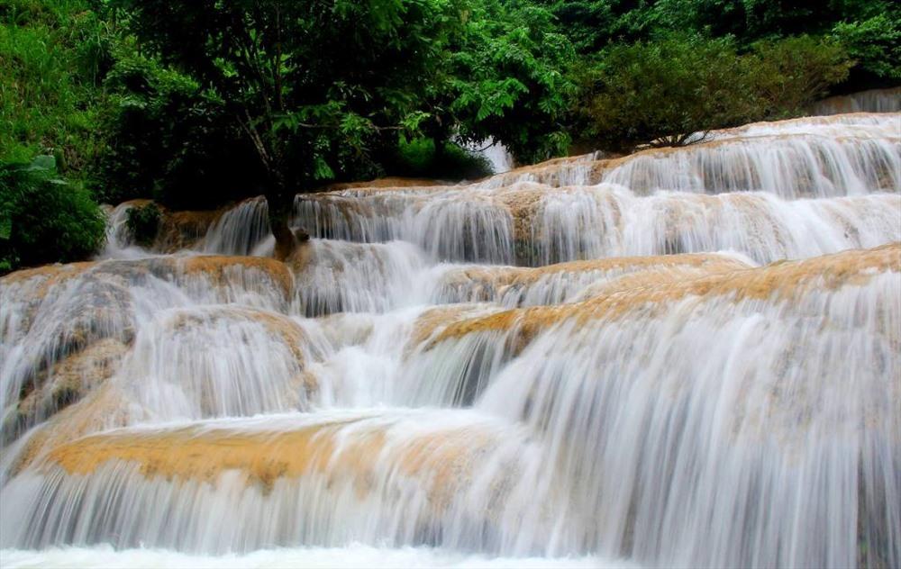 thác mây -các điểm thăm quan tại Thanh Hóa