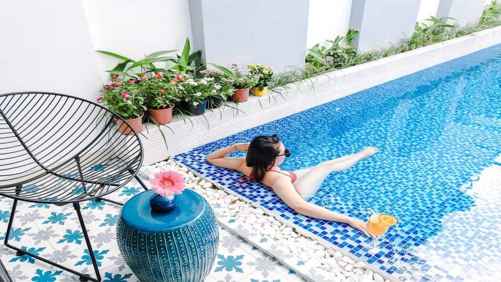 villa FLC Sầm Sơn có bể bơi
