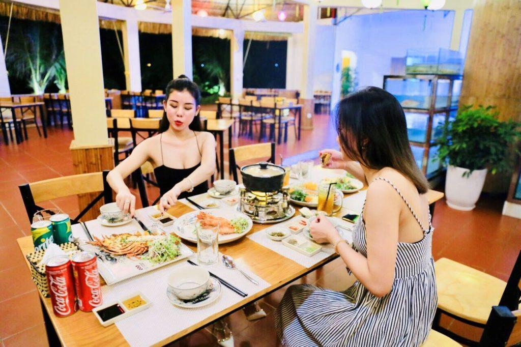 quán hải sản gần FLC Quy Nhơn