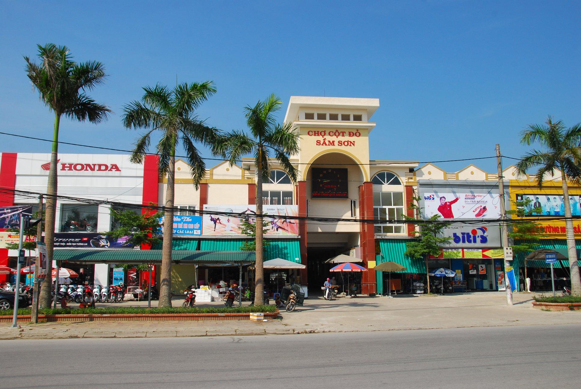 Chợ Cột Đỏ FLC Sầm Sơn