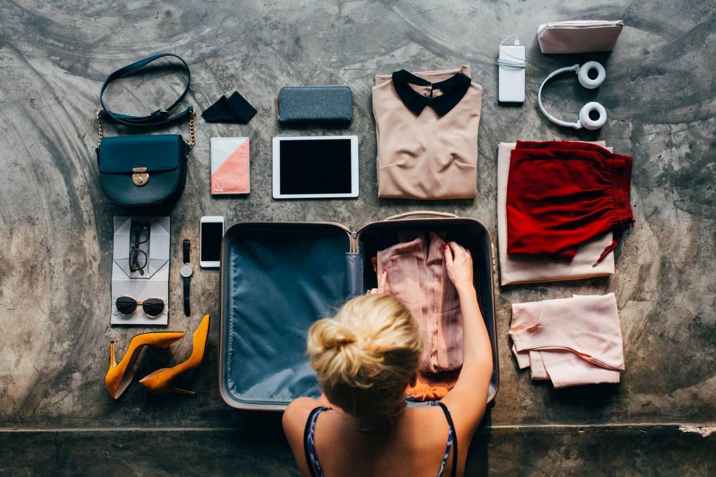 Hành lý mang theo khi đi du lịch