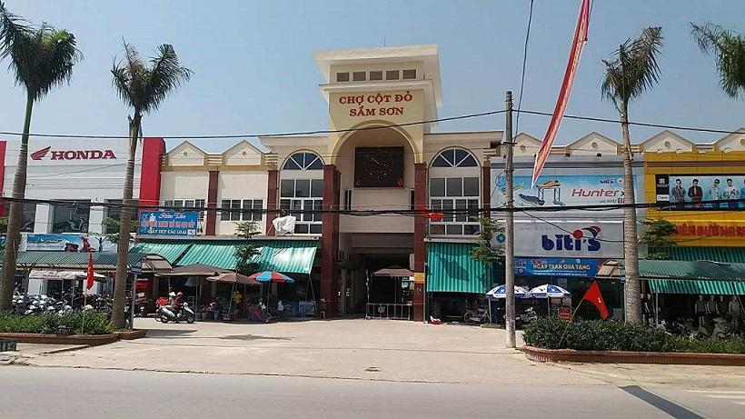 chợ cột đỏ - chợ hải sản sầm sơn