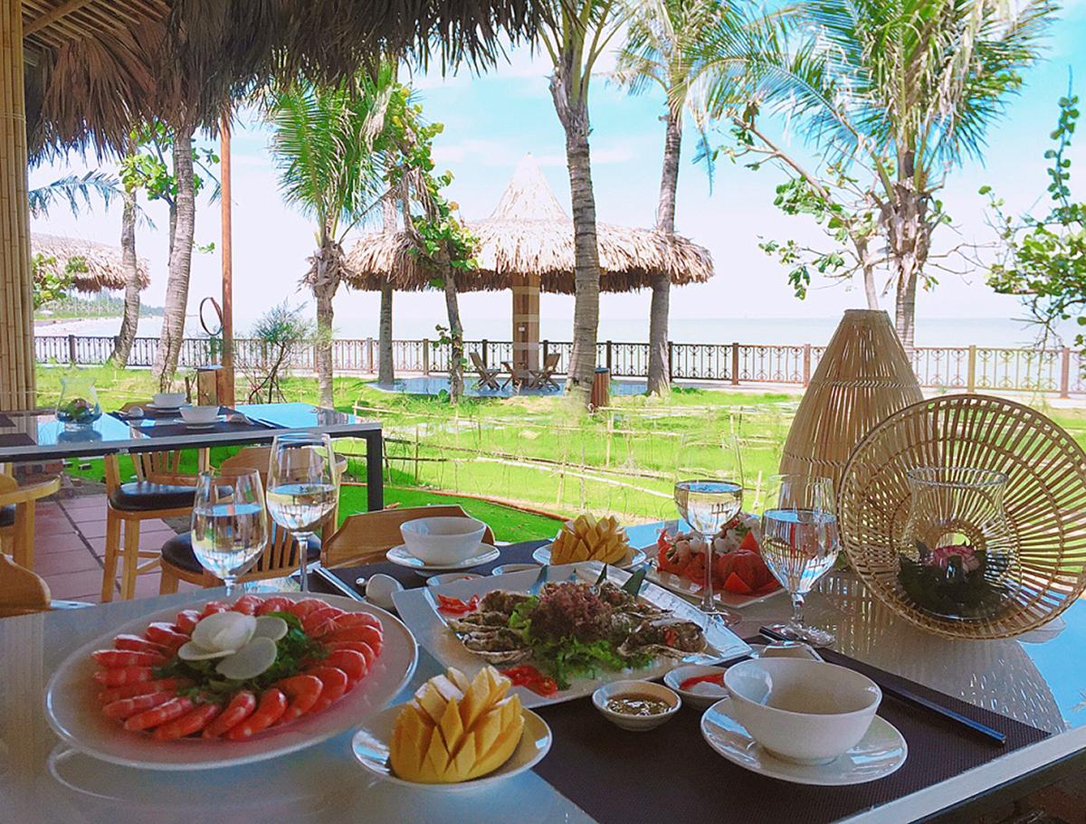 nhà hàng hương biển Sầm Sơn