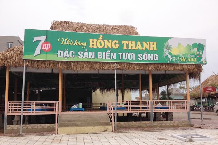 nhà hàng hồng thanh - ăn hải sản ngon rẻ ở Sầm Sơn