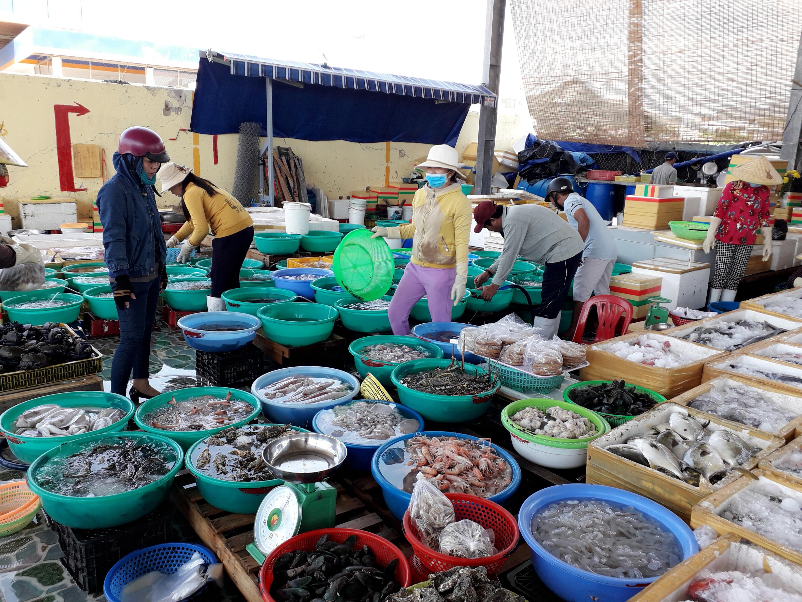 Chợ Hải Sản tươi sống