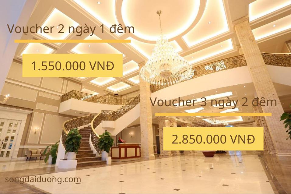 voucher khách sạn Vĩnh Phúc