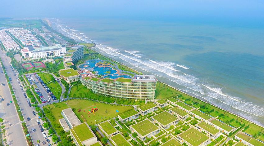 bãi biển FLC