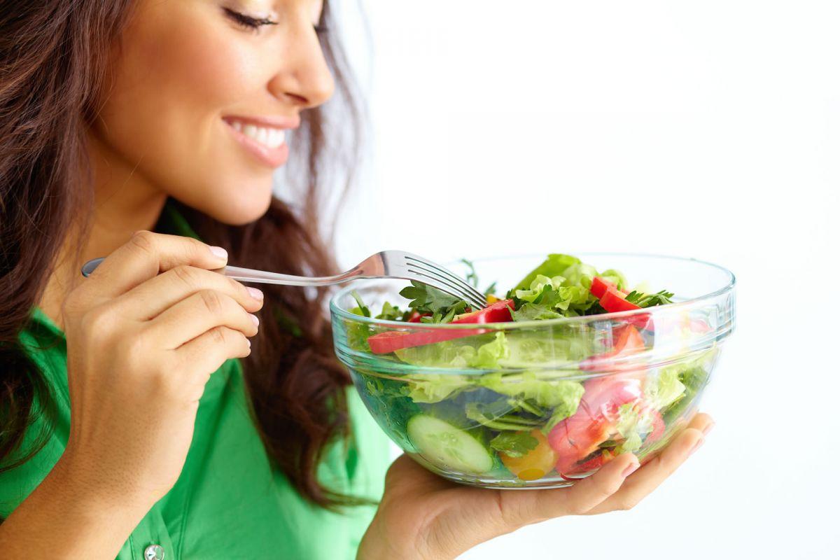 ăn rau xanh đẹp da
