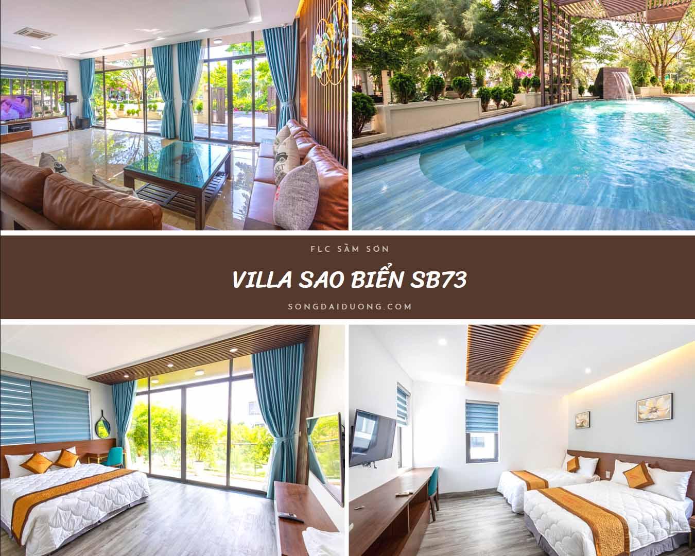 Villa FLC Sầm Sơn 8 phòng ngủ - chi tiết tiện ích
