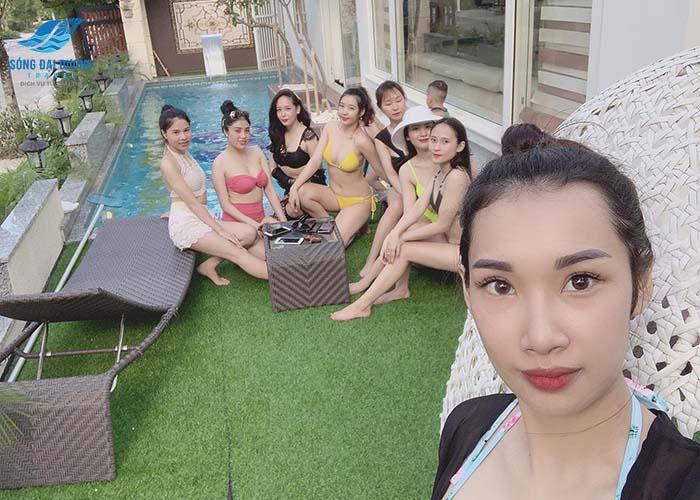 Ngọc Trai NT77 Villa FLC Sầm Sơn 7 phòng ngủ bể bơi riêng
